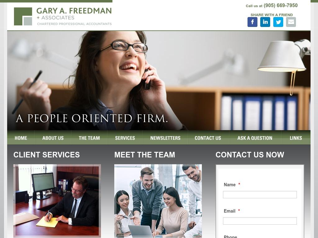 Gary A. Freedman Chartered Accountant