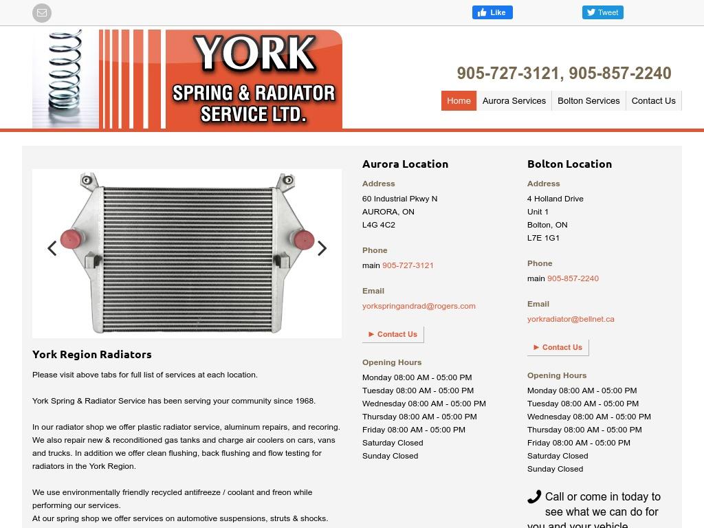 York Spring & Radiator Service Ltd.