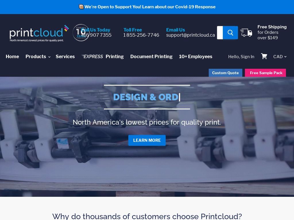 Business Card Printing Toronto – Printcloud