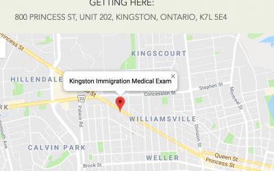 Kingston Immigration Medical Exam